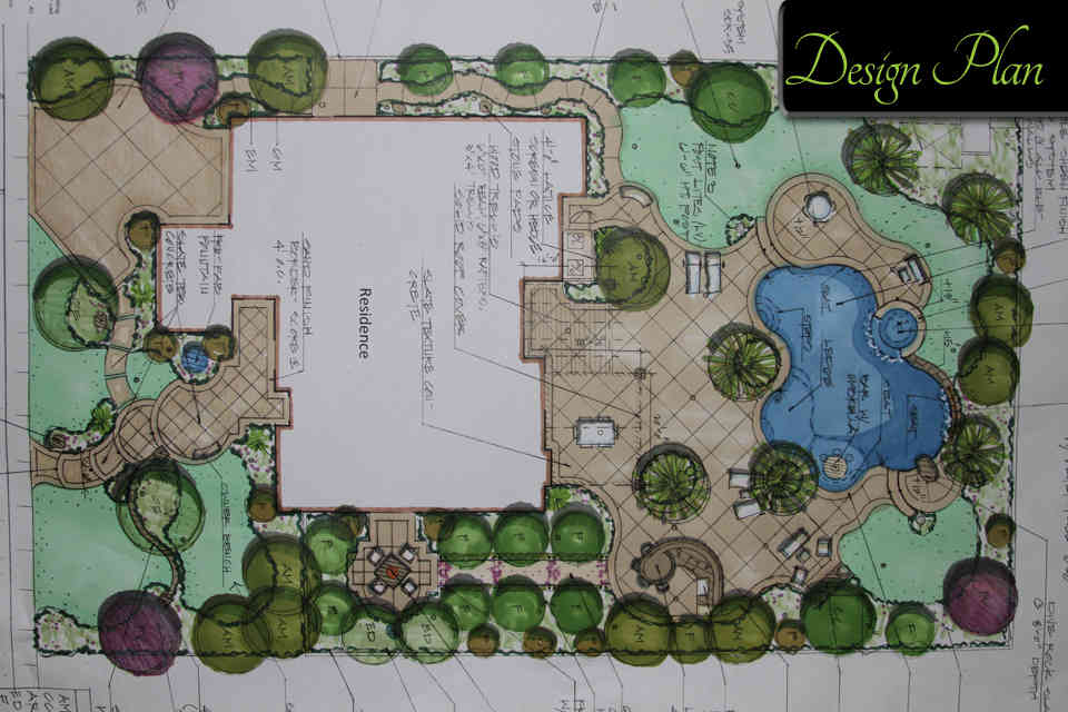 Gallery Design Plan 1_opt ... - 1 - Brooks Landscape By Design